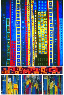 There are so many wonderful quilt designs ideas within the abstract art field, let's unveil some