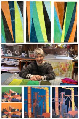 All your questions on Color from veteran teacher/designer Elizabeth Barton will be answered in this course which is applicable to many different mediums: fiber, paint, ceramics…. even landscape gardening!
