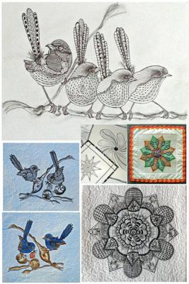 Step up to more advanced learning along the Zentangle Journey