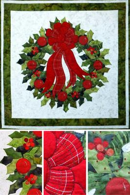 Learn easy methods of applique and quilting techniques for a festive look.