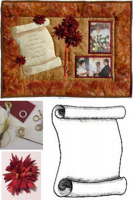 Make a personalized wall hangings to suit your occasion