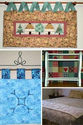 Instructions for hanging and displaying your quilts